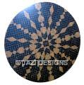 MOROCCAN MOSAIC ROUND TABLE - JENNA