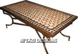 RECTANGULAR MOSAIC COFFEE TABLE